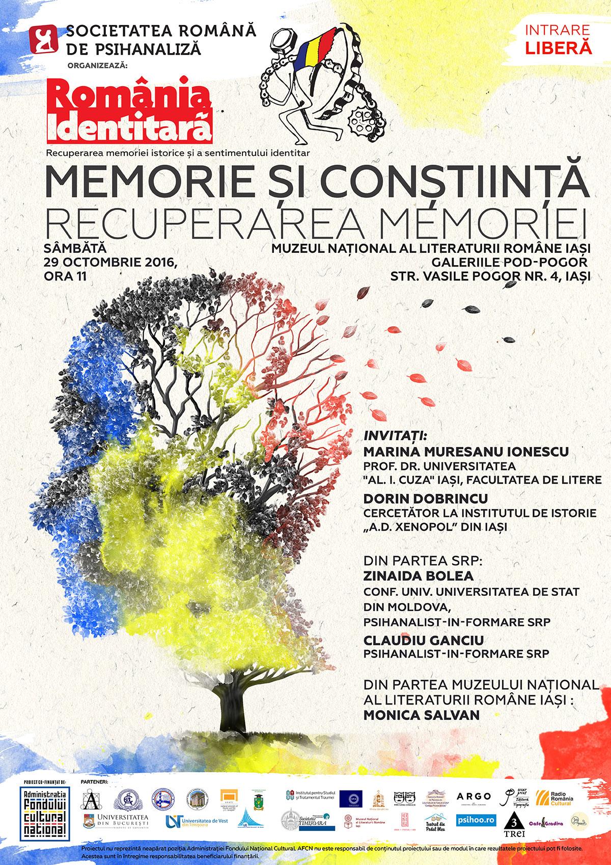 ATELIER 9: MEMORIE SI CONSTIINTA